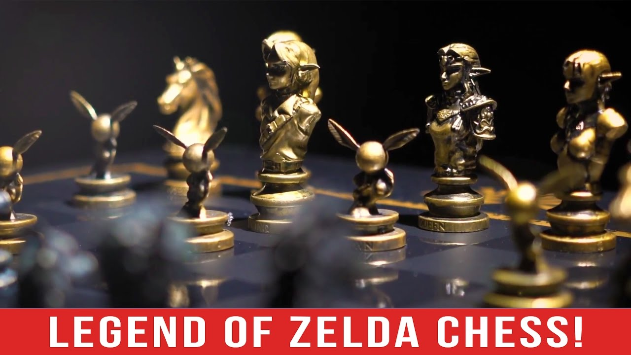 Mira el espectacular Ajedrez de The Legend of Zelda