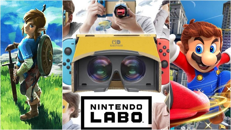 Juega Super Mario Odyssey y Zelda: Breath of the Wild en Realidad Virtual